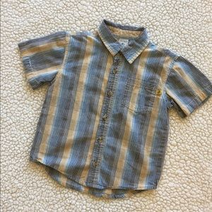 Old Navy shirt boys 3T Button Front short sleeve
